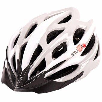 STUDIO Helmet Cycling หมวกจักรยาน (สีเทา/ขาว)