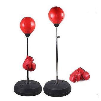 Super Fit เป้าชก punching-ball อุปกรณ์ชกมวย -Red