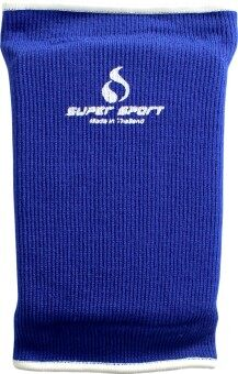 SUPER SPORT สนับเข่า มีฟองน้ำ Knee Pad W/Sponge 4024 BL