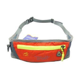 ประเทศไทย TANLUHU กระเป๋าคาดเอว Bags Sport (สีส้ม)