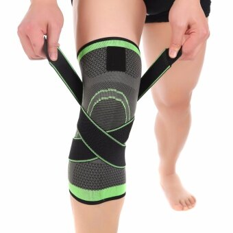 Tape 1 Pcs 3d Pressurized Fitness Running Cycling Knee Support Braces Elastic Nylon Sport Compression Pad