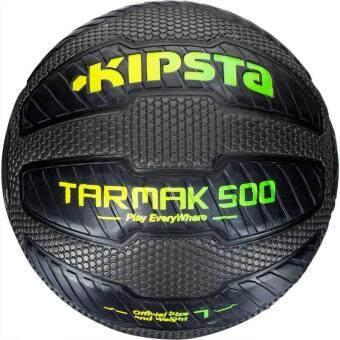 ราคา ลูกบาสเก็ตบอลรุ่น Tarmak 500 - Magic Jam เบอร์ 7 (สีดำ) ทนทาน ยึดเกาะดีเยี่ยม