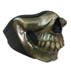 Telecorsa หน้ากากกันลมกันฝุ่น หัวกระโหลกผี รุ่น Mask455