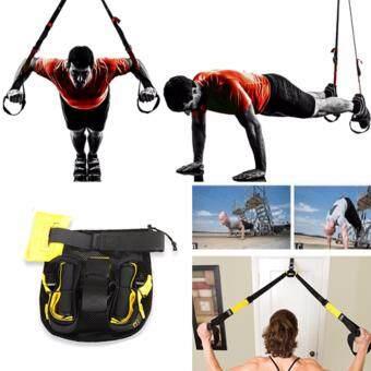 TRX Fitness เชือกออกกำลังกาย สำหรับเสริมสร้ากล้ามเนื้อ และ sixpack