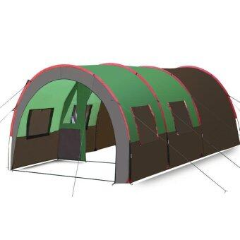 Umega Hewolf Outdoor family company tent 3-4 person room 2 officesuper large Tunnel Tent camping camping equipment H-1636 - intl