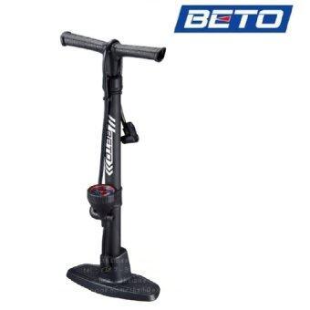 VAUKO : BETO Tire Hand Pump ที่สูบลมล้อจักรยาน รถยนต์ แบบตั้งพื้นใช้มือสูบ รุ่นยอดนิยม CMP-114
