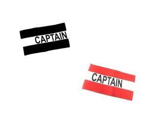 VIVA ปลอกแขนกัปตันทีมฟุตบอล (สีดำ-สีแดง)