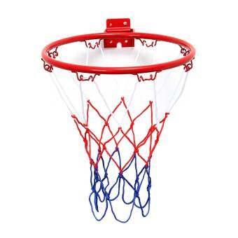 Wall Mounted Hanging Basketball Goal Hoop Rim Net Metal Sporting Goods Netting 32cm