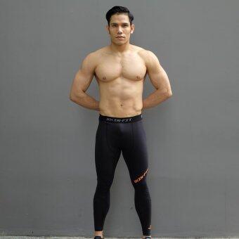 WANAKA กางเกงรัดกล้ามเนื้อ รุ่น Skin Fit (Black)