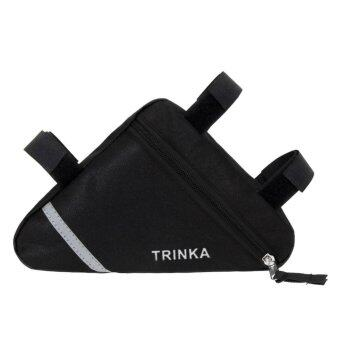 Waterproof Triangle Cycling Bike Front Tube Frame Pouch Saddle Bag- intl