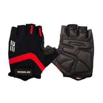 ซื้อ/ขาย ถุงมือปั่นจักรยานครึ่งนิ้ว WHEEL23 รุ่น DESIGN 1