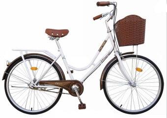 WINN De'sire จักรยานแม่บ้านวินเทจ ล้อ26\ (สีขาว)