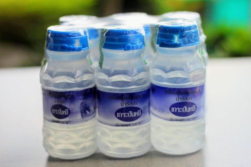 เครื่องดื่มวุ้น รังนก เพื่อสุขภาพ ตราเกาะปันหยี ราคาถูก 1 แพ็ค 6 ขวด ปริมาณ 140 มล.