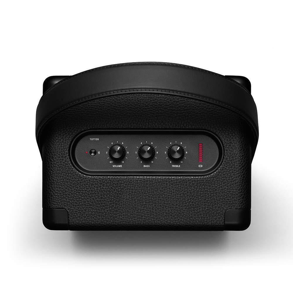 ยี่ห้อไหนดี  Marshall Tufton Portable Bluetooth Speaker ลำโพงบลูทูธพกพาใหม่ล่าสุด สุดหรูจาก Marshall แบตเตอรี่ 20 ชั่วโมง รับประกันศูนย์ Marshall 1 ปี Free Benjie K8BT