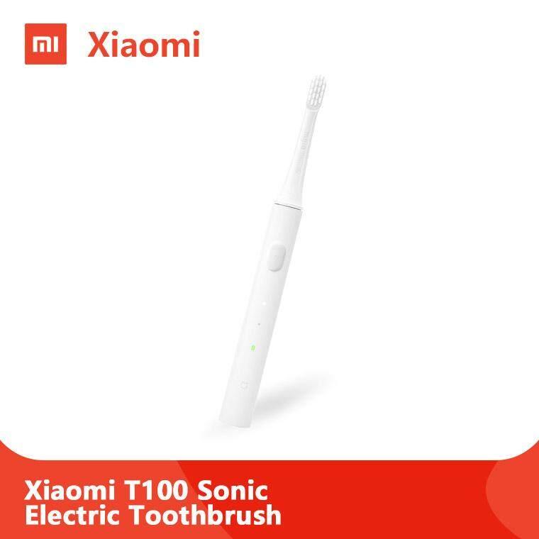 แปรงสีฟันไฟฟ้า ช่วยดูแลสุขภาพช่องปาก ฉะเชิงเทรา Xiaomi Mijia T100 Sonic Electric Toothbrush แปรงสีฟันไฟฟ้าอัลตราโซนิก แปรงสีฟันอัตโนมัติ  USB ชาร์จกันน้ำสุขภาพแปรงฟัน