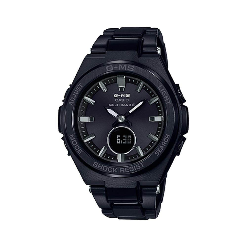 ยี่ห้อนี้ดีไหม  นครนายก CASIO BABY-G รุ่น MSG-W200CG-1AJF (CMG) นาฬิกาข้อมือสายสแตนเลส สีดำ