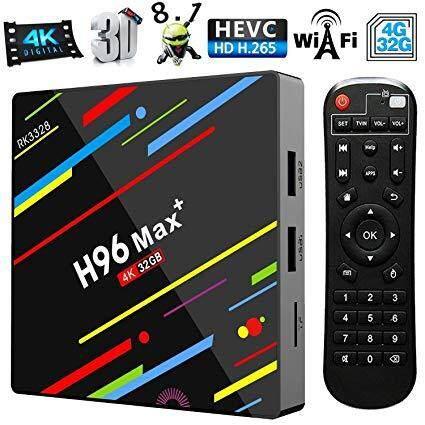 บัตรเครดิตซิตี้แบงก์ รีวอร์ด  นครสวรรค์ Android Smart TV Box H96 Max + Android 8.1กล่องแอนดรอยด์รุ่นใหม่ปี  แรม4GB/32GB RK3328 Quad - Core 64bit Cortex-A53 Penta - Core Mali+ Full HD/H.265/Dual WiFi Smart Set Top