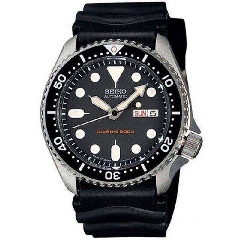 ยี่ห้อนี้ดีไหม  น่าน SEIKO นาฬิกาผู้ชาย Automatic Diver 200M Men s Watch รุ่น SKX007K1 - Black