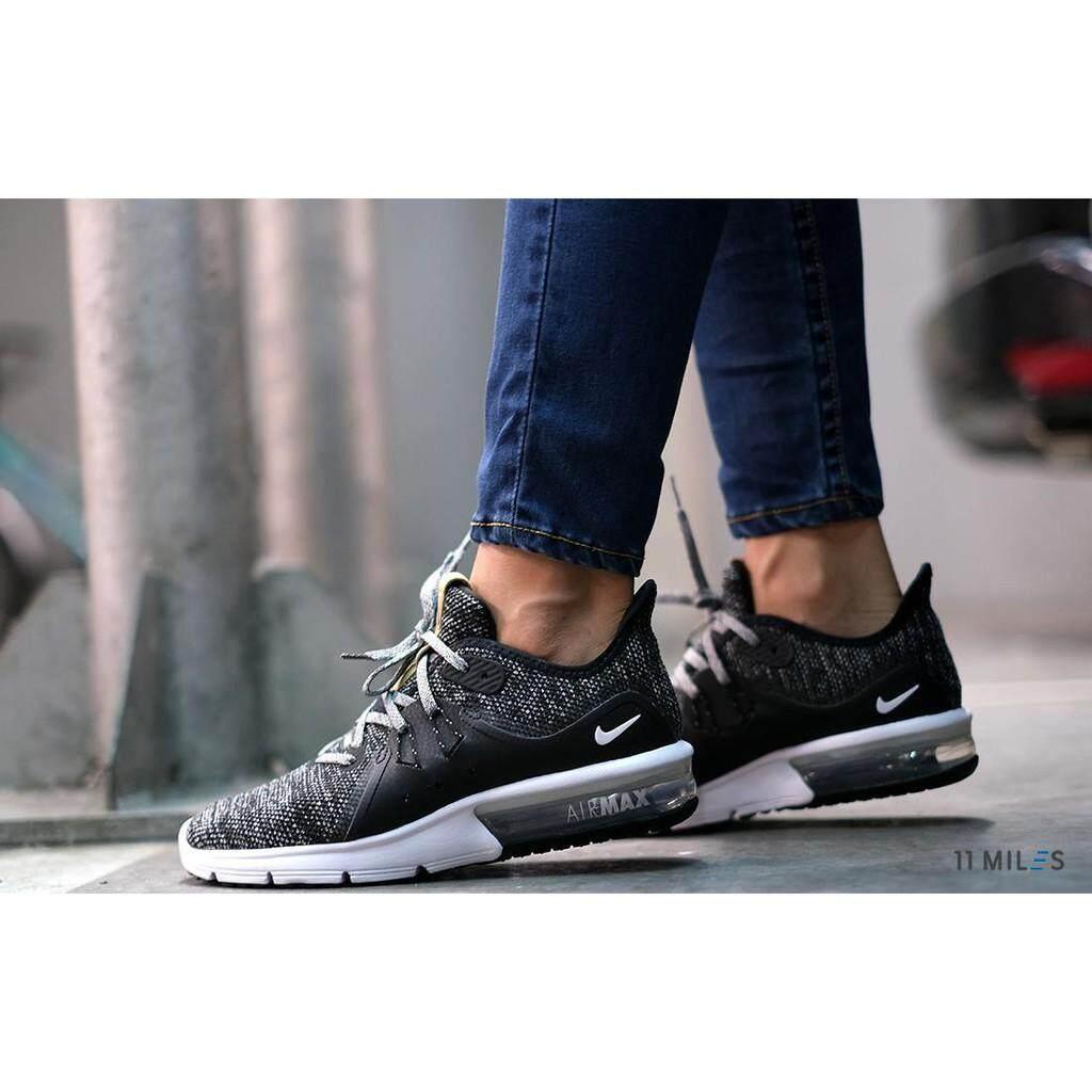การใช้งาน  บึงกาฬ 11milesstoreของแท้ !!!! พร้อมส่ง รองเท้าวิ่งผู้หญิง Nike รุ่น Nike Air Max Sequent 3