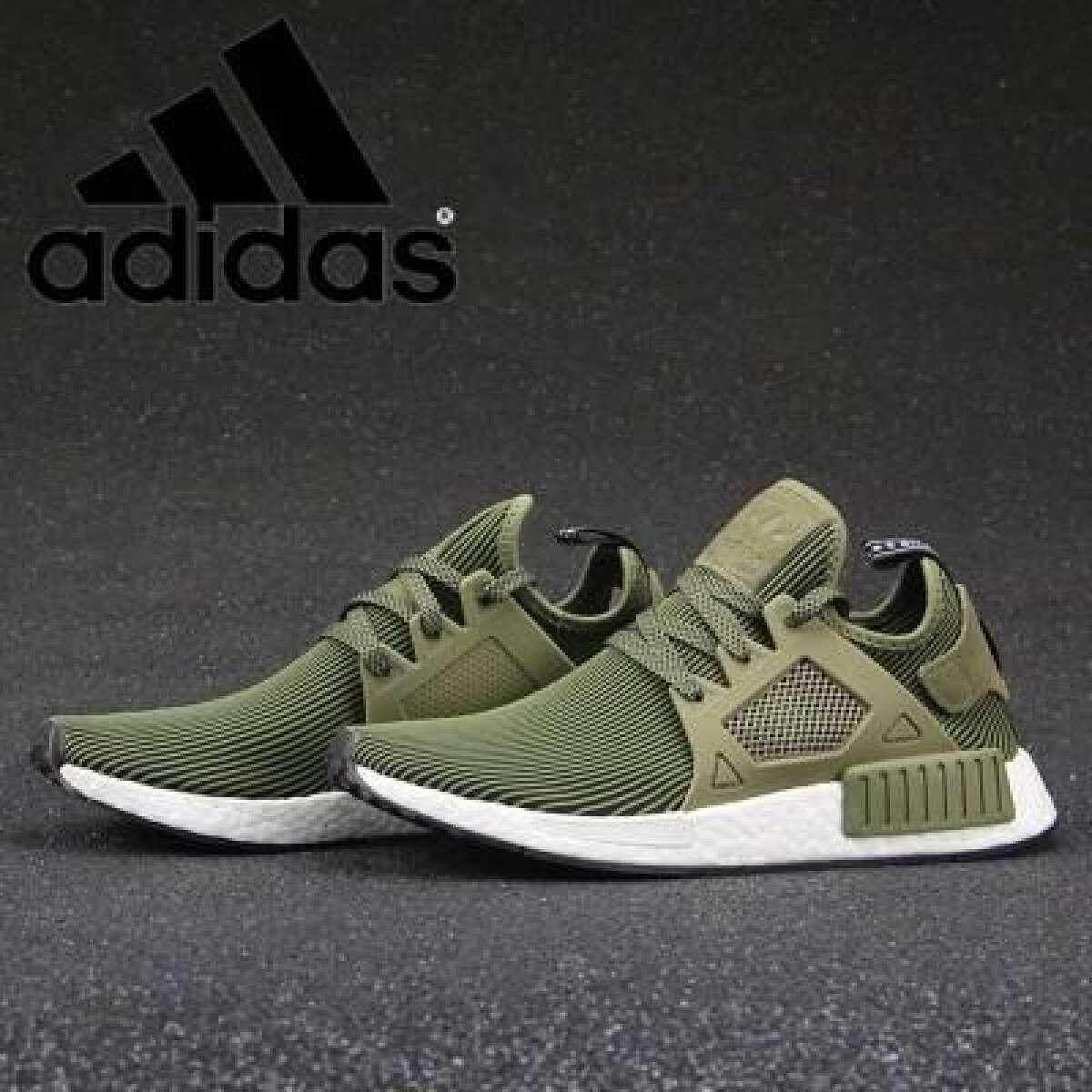 การใช้งาน  หนองคาย [คลังสินค้าพร้อม] รองเท้า Adidas Orignals NMD XR1  สีเขียวทหารวิ่งรองเท้า