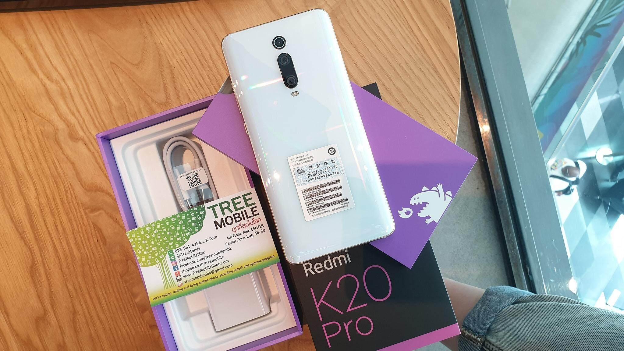 สอนใช้งาน  นครปฐม Xiaomi Redmi K20 Pro 64GB/128GB (Ram6) /ร้าน TreeMobile TreeMobileMbk