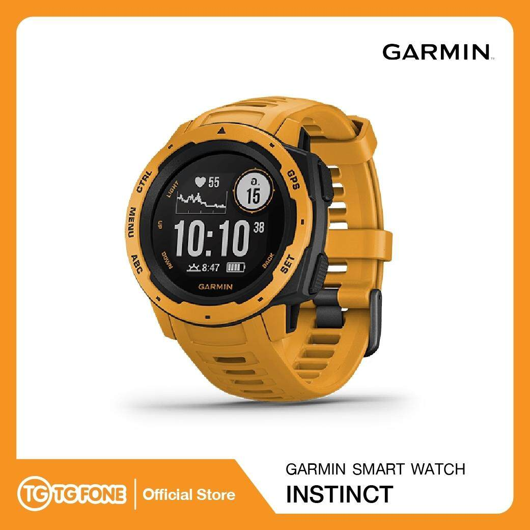นราธิวาส GARMIN Smart Watch Instinct (Sun Burst)