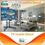 เก็บเงินปลายทางได้ Eco Home ขาตั้งทีวี พร้อมชั้นวาง 1 ชั้น รุ่น Eco1500 (รองรับทีวี ขนาด 32-65 นิ้ว) High Quality มีสินค้าพร้อม สามารถปรับ ก้ม-เงยได้ 15 องศา ส่งkerry TV mobile Stand 165-200cm