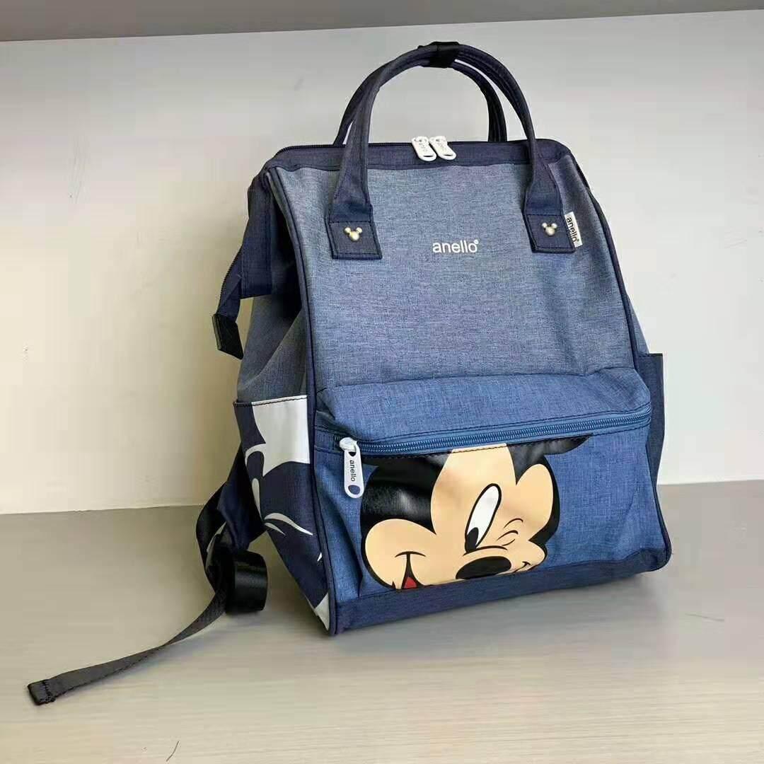 ยี่ห้อไหนดี  พิจิตร กระเป๋า Anello Đisnēy 2019 Polyester Canvas Backpack Limited Edition