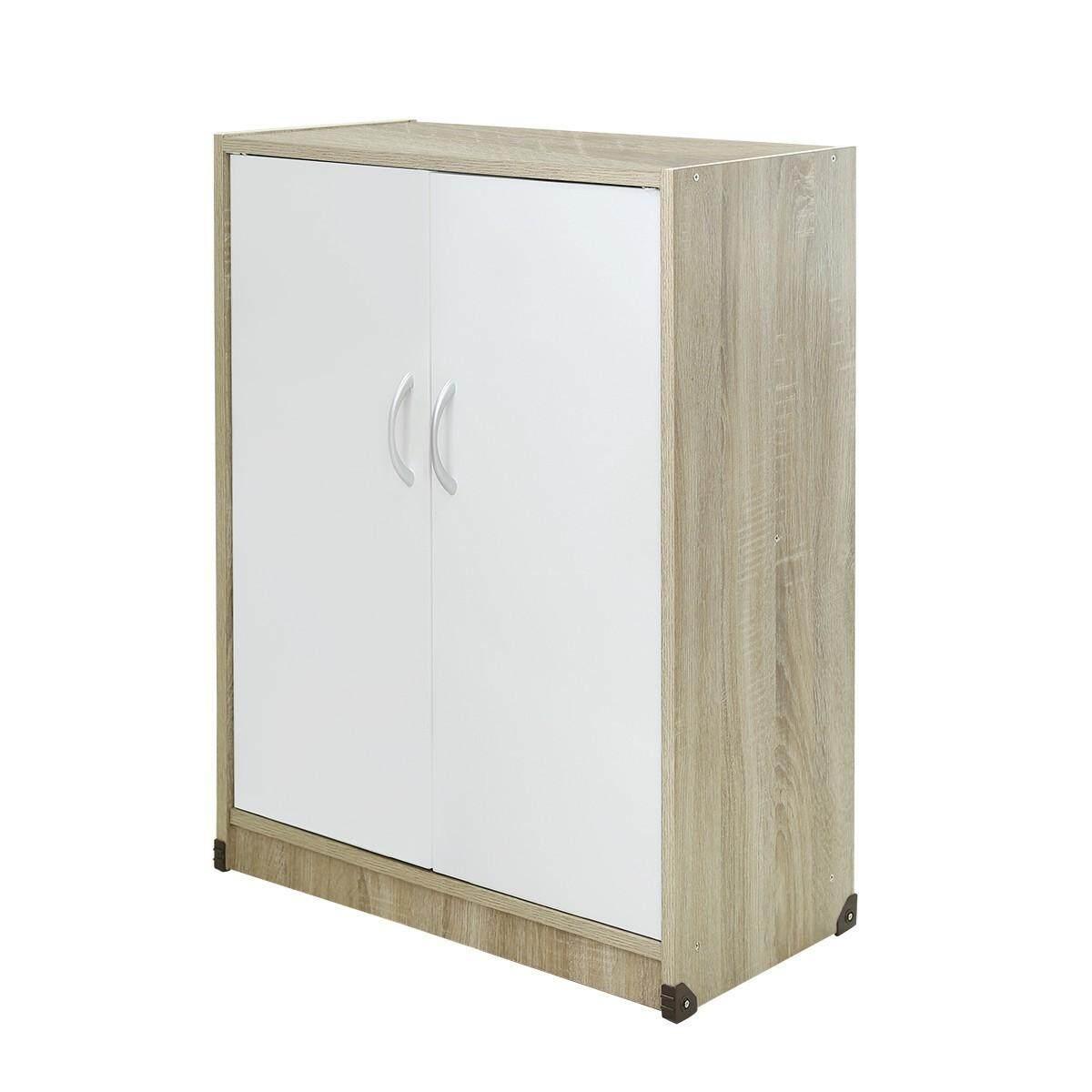 ตู้รองเท้า4ชั้น Size W60 D30 H80 cm.ส่งไวมากไม่เกิน2-3วันทำการด้วยKERRY(มีเก็บเงินปลายทาง) Shoe cabinet  wooden 4 layers