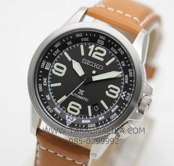 สอนใช้งาน  ลำพูน SEIKO  นาฬิกา  Prospex Automatic SRPA75K1 สายหนัง (ประกันศูนย์ บ.ไซโกประเทศไทย จก.)