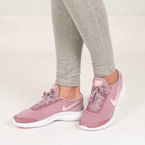 เก็บเงินปลายทางได้ modelb Nike รองเท้าผ้าใบ ออกกำลังกาย ผู้หญิง ไนกี้ Women Excercise Shoe Flex Experience Run Rose Pink ++ของแท้100% พร้อมส่ง ส่งด่วน kerry!!!