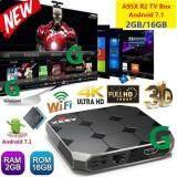 บัตรเครดิต ธนชาต  เลย กล่องทีวีดิจิตอล แอนดรอยด์รุ่น A95X R2 Smart TV Box Android 7.1 Quad Core Amlogic S905W 2GB/16GB 4K HD WiFi Media Player