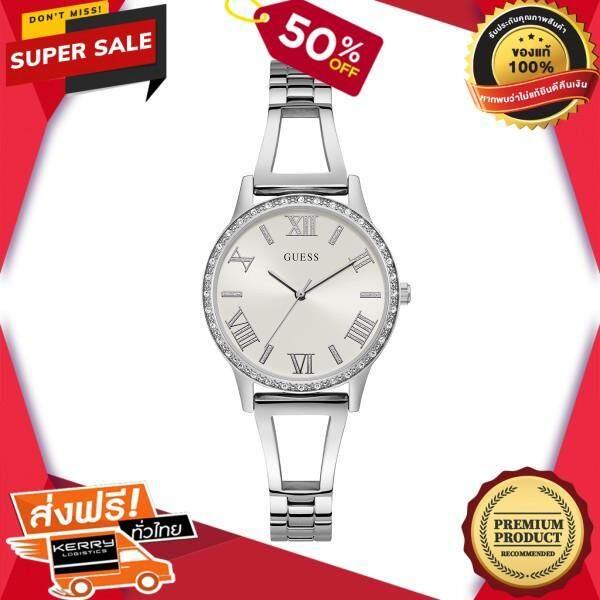 เก็บเงินปลายทางได้ นาฬิกาข้อมือคุณผู้หญิง GUESS นาฬิกาข้อมือผู้หญิง Chelsea รุ่น W1197L2 สีเงิน ของแท้ 100% สินค้าขายดี จัดส่งฟรี Kerry!! ศูนย์รวม นาฬิกา casio นาฬิกาผู้หญิง นาฬิกาผู้ชาย นาฬิกา seiko