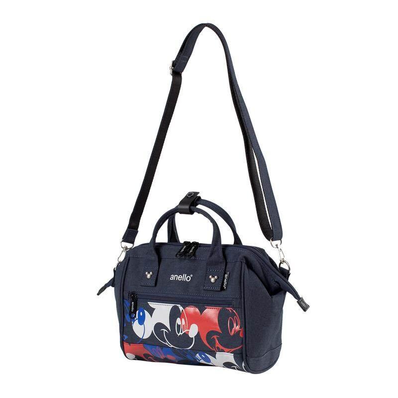 สอนใช้งาน  กรุงเทพมหานคร Anello Mickey Limited Edition 2way Shoulder Bag (DT-G002)
