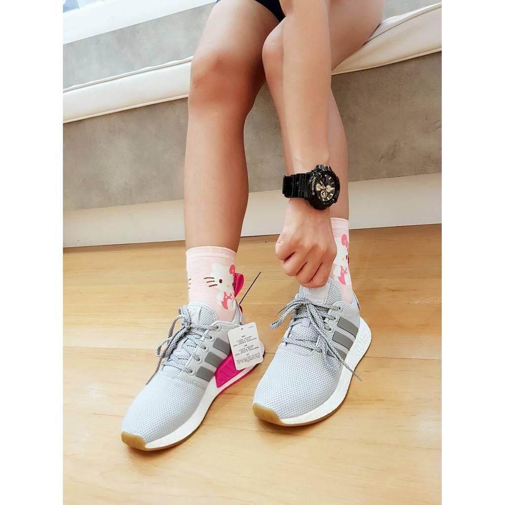 สอนใช้งาน  ปทุมธานี รองเท้าอดิดาส Adidas Nmd R2 ของแท้?? ปลั๊กชมพู