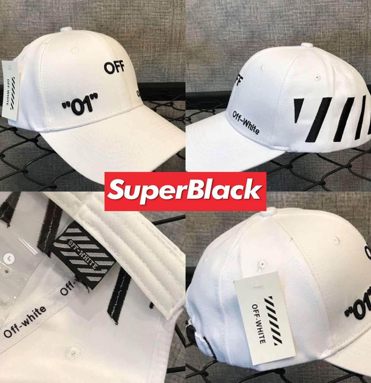 ลดสุดๆ หมวกOff-White GAP ®️ (สีขาว) *จัดส่งจากก.ท.ม ส่งฟรีKerryเก็บเงินปลายได้*