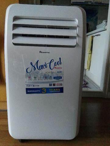ขายดีมาก! Air conditioner แอร์เคลื่อนที่ ยี่ห้อ  Aconatic 12 000 BTU รับประกันศูนย์ ส่งฟรี Kerry Express