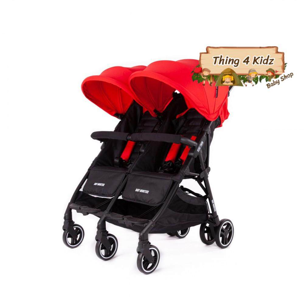 Baby Monster รถเข็นเด็กแฝด รถเข็นพี่น้อง รุ่น Kuki Twin พับเล็กที่สุด