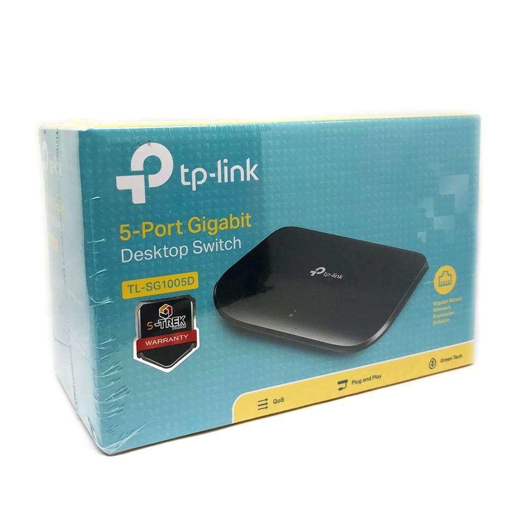 TP-LINK TL-SG1005Dส่งKERRYประกันศูนย์LIMITED LIFETIME 5 Port Gigabit