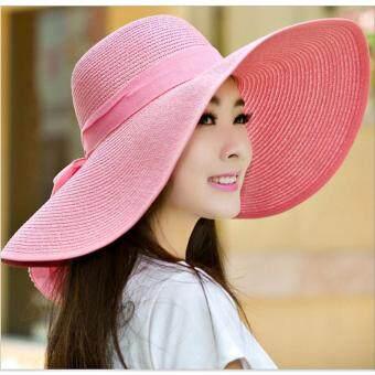 199 หมวกปีกกว้าง Sombrero หมวกกันแดด หมวกพกพา หมวกพับเก็บได้หมวกผู้หญิง หมวกแฟชั่นสตรี หมวกไปทะเล หมวกมีปีก หมวกเที่ยวทะเลหมวกสาน หมวกปานามาสานปีกกว้าง หมวกชายทะเล หมวกปีกกว้างตกแต่งโบว์หมวกชายหาด หมวกเเฟชั่นสไตล์เกาหลี