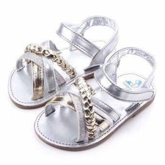 2 Colors Summer Cute Baby Girls Infant Newborn Toddler Sandals Rubber Sole - intl