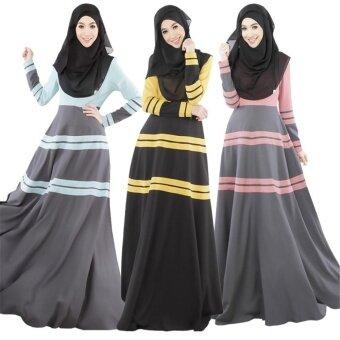 2016 ชุดสตรีมุสลิมในระยะยาวกระโปรงฮุยเสื้อผ้าอุปกรณ์แต่งกาย(สีชมพู)