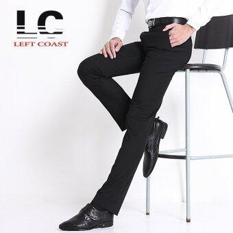2016 Straight Men Suit Pants Work Office Formal Black Pants Casual Mens Business Trousers