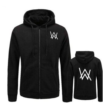 2017 BAIJOE Mens Hoodies Sweatshirts Music DJ Comedy Alan Walker Hip Hop Hoodie Black Jacket Men Clothes Fashion Hooded Hombre - intl