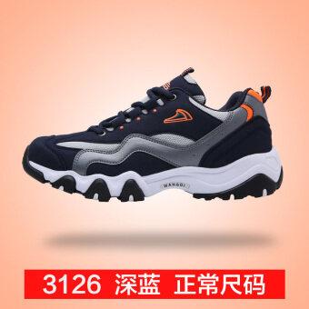 ฤดูใบไม้ร่วงกีฬารองเท้าลำลองผู้ชาย (3126 สีน้ำเงินเข้ม)