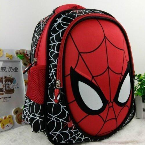 3603918eea 36.58ซม 3D เด็กผู้ชายเล่นแมงมุมน่ารัก ๆ ใหม่ ๆเด็กผู้ชายกระเป๋าเป้กระเป๋า นักเรียนโรงเรียนการ์ตูนถุงเป้