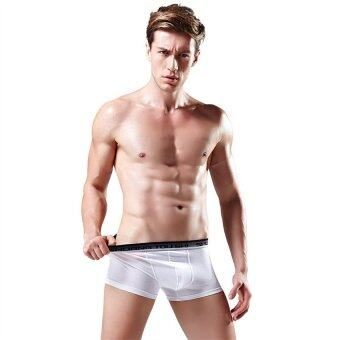 4pcs/set Men Lycra Cotton Boxers Underwear MUW1001-D