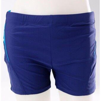 ราคา #677กางเกงว่ายน้ำชายขาสั้นมีไซร L XL XXL