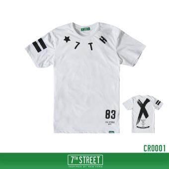7th street graphic t shirt 1495448172 24218402 fd7c2f642e4d5a0568be2240bdceecb1 product ถูก 7th Street Graphic T Shirt เสื้อยืดแนวสตรีท   สีขาว