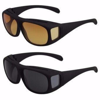 แว่นตา แว่นสำหรับใส่กลางคืนและกลางวัน ตัดแสงสะท้อนต่างๆทำให้มองชัดขึ้น ซูม 850 เท่า รุ่นเดียวกับที่โฆษณา TV Directรับประกันคุณภาพของแท้ 100% - 4